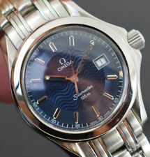 OMEGA Quartz (Battery) Wristwatches with 12-Hour Dial