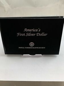 1783 America's First Silver Dollar Postal Commemorative Society ***NO RESERVE***