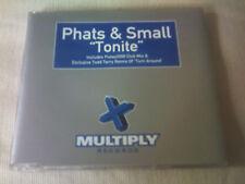 PHATS & SMALL - TONITE - HOUSE CD SINGLE