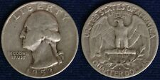 STATI UNITI/USA QUARTER DOLLAR DOLLARO $ WASHINGTON 1953 D ARGENTO/SILVER #5959