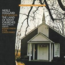 The Land of Many Churches by Merle Haggard (CD, Sep-2011, Beat Goes On)