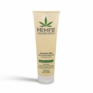 Hempz Sensitive Skin Calming Herbal Body Wash 8.5 OZ SEALED