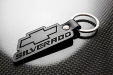 Handmade Leather Keychain Keyring for Chevrolet Silverado