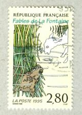 FRENCH POSTAGE - FABLES DE LA FONTAINE LAMB AND WOLF STAMP LA POSTE 1995 FRANCE