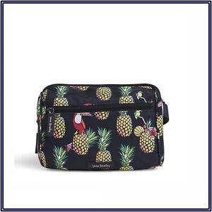 NWT Vera Bradley Belt Bag Waist Pack Lighten Up in Toucan Party Navy Tropical