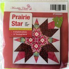 Matildas Own Prairie Star Patchwork Template Set