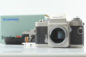 [Unused]  Voigtlander Bessaflex TM Silver 35mm SLR Film Camera From JAPAN