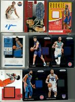 20 Card NBA Superstars Rookie RC Hot Pack Lot w/GUARANTEED RELIC or AUTO