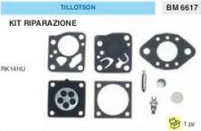 KIT RIPARAZIONE + MEMBRANE membrana CARBURATORE TILLOTSON RK 14 HU RK14HU