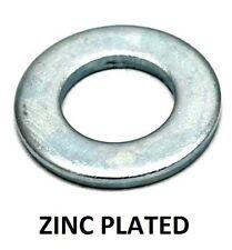 Qty 100 Flat Washer M4 (4mm) x 9mm x 0.8mm Metric Round Steel Zinc Plated ZP