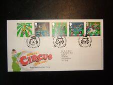 2002 Europa Circus Royal mail FDC & Clowne, Chesterfield SHS CV £ 9