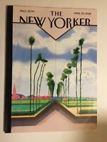 """The New Yorker Magazine Travel & Food Issue  April 23, 2018 """"The Road,""""  David H"""