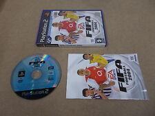 PS2 Playstation 2 PAL Spiel FIFA Football 2004 mit Box Anleitung