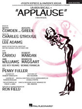 Applause Musical Vocal Piano Sheet Music Lyrics 14 Songs Hal Leonard Book