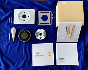 Nest 2nd Generation Learning Programmable Smart Thermostat - Silver