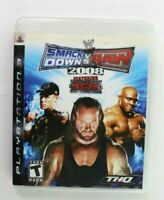 PS3 WWE SmackDown vs Raw 2008 Featuring ECW (Sony PlayStation 3, 2007) Complete