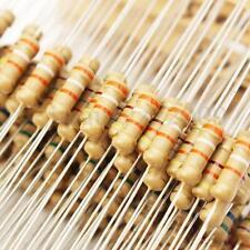 500pcs 50 Values 1/2W 0.5W 5% Carbon Film Resistors Assorted Kit Set