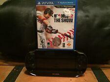 Sony PlayStation Vita PCH-1001 8GB Black Handheld Gaming System  &Game