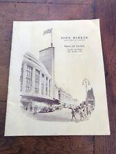 john barker & company - reports & accounts 1956  london ( nice cover image )