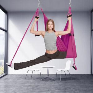 Yoga KitSwing Hammock Trapeze Sling Aerial Silks Anti-gravity Inversion Fitness