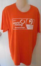 World Rowing Championships 2017 Staff T-Shirt Medium Sarasota Florida Skuller