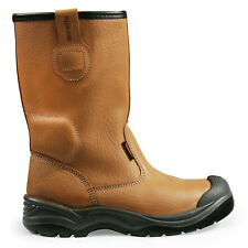 Scruffs Gravity Rigger Work BOOTS Uk7-12 Brown Steel Toe Cap S1p SRA Rated 8