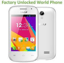 "BLU Dash Jr W WHITE 3.5"" Dual Sim Quad-Band Unlocked Android GSM OPEN D141W"