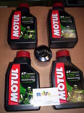 4 LT KIT TAGLIANDO FILTRO OLIO MOTUL 5100 15W50 PIAGGIO 500 EVOLUTION 03-10