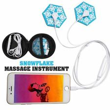 SNOWFLAKE Mobile Phone Powered Massage Instrument