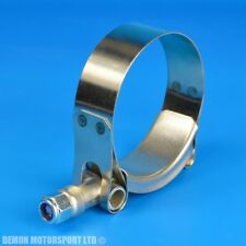 """SILICONE HOSE HEAVY DUTY T BOLT CLAMP 4"""" Inch"""