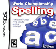 World Championship Spelling NDS New Nintendo DS, Nintendo DS