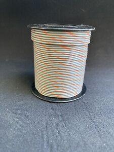 "20 GA. 19 Strand Type ""E"" Teflon M16878/4-20 Grey/Orange 100 ft. spool"