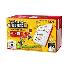 Nintendo 2DS Super Mario Bros. 2 Special Edition Weiß & Rot Handheld-Spielkonsole