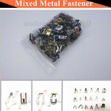 100 x Metal Plastic Fastener Mixed Rivet Set For Audio Center Console Panel