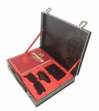 Spy Master Briefcase Black Spy kit - Secret Agent Mission Handbook with Top Spy