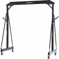 Strongway Adjustable Gantry Crane- 4000-Lb. Capacity