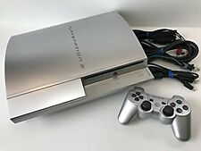 PLAYSTATION 3 40GB Satin Silver Manufacturer end of production USED