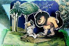 WHERE THE WILD THINGS ARE PARTY  CAKE PAPER POP-UP CARD TOPPER KIT BAKERY  CRAFT