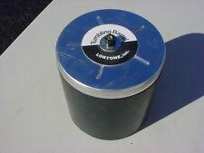 LORTONE TUMBLER DRUM, 12 POUND.  FITS QT12, QT66 & OTHERS. COMPLETE ASSY, NEW!
