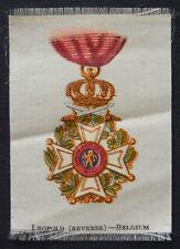 LEOPOLD BELGIUM 1920 Anon Cigarette Silk