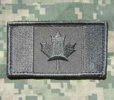 CANADA FLAG CANADIAN MILITARY ARMY ISAF TACTICAL MILSPEC COMBAT ACU IRON PATCH