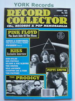 RECORD COLLECTOR MAGAZINE - Issue 204 August 1996 - Pink Floyd / Prodigy