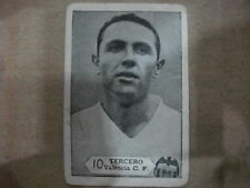 CROMO Nº10 TERCERO  VALENCIA C.F.  TEMPORADA 1958-59