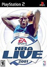 Nba Live 2001 PLAYSTATION 2 (PS2) Sports (Video Game)