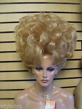 SIN CITY WIGS BIG UPDO SOFT VOLUMINOUS CURLS FLUFFY ELEGANT DRAG QUEEN SEXY HOT