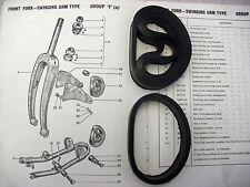 31/Raleigh Ciclomotor/Supermatic/RM5/Bandas De Suspensión Horquilla Delantera