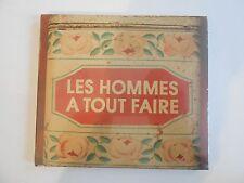 LES HOMMES A TOUT FAIRE : LA TABLE DE BISTROT || CD NEUF ! PORT 0€