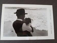 fotografia edouard boubat nazare portugal 1956 24.8cmx16.4 cm rara stupenda