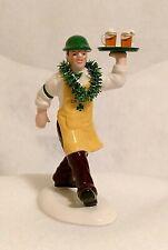 "New Dept 56 Snow Village ""Bringing On The Irish Cheer"" #55128"