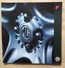 MG MGF orig 1995 UK Mkt Large Format 32 Page Prestige Sales Brochure - 1.8i VVC